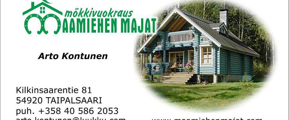 Maamiehen Majat Käyntikorttikuva