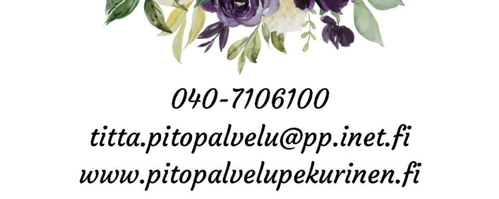 Pitopalvelu Titta