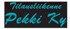 Tilausliikennepekki Logo